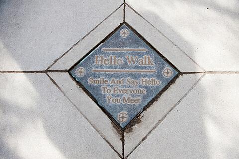 Hello walk