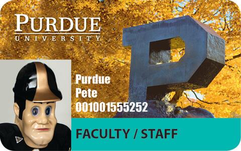 Purdue ID card