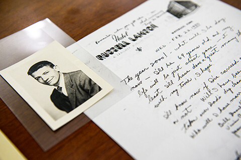 Walter Pahnke papers