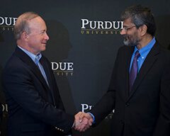 Mitch Daniels and Uday B. Desai