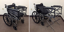 Wheelchair design