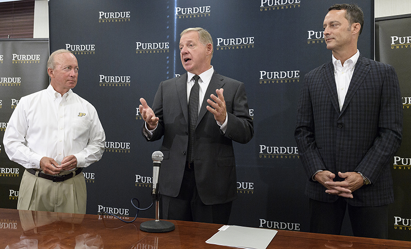 Purdue announces new AD from Georgia Tech