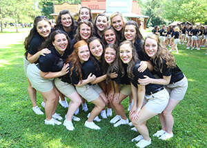 Picnic with the Purduettes