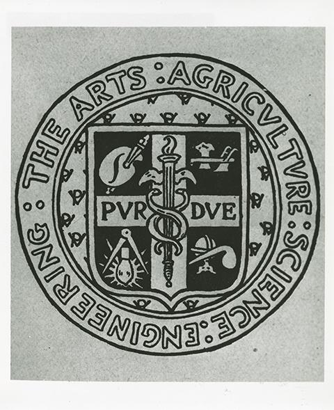 Purdue Seal 1894 Rogers