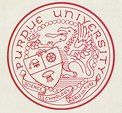 Purdue Seal 1909
