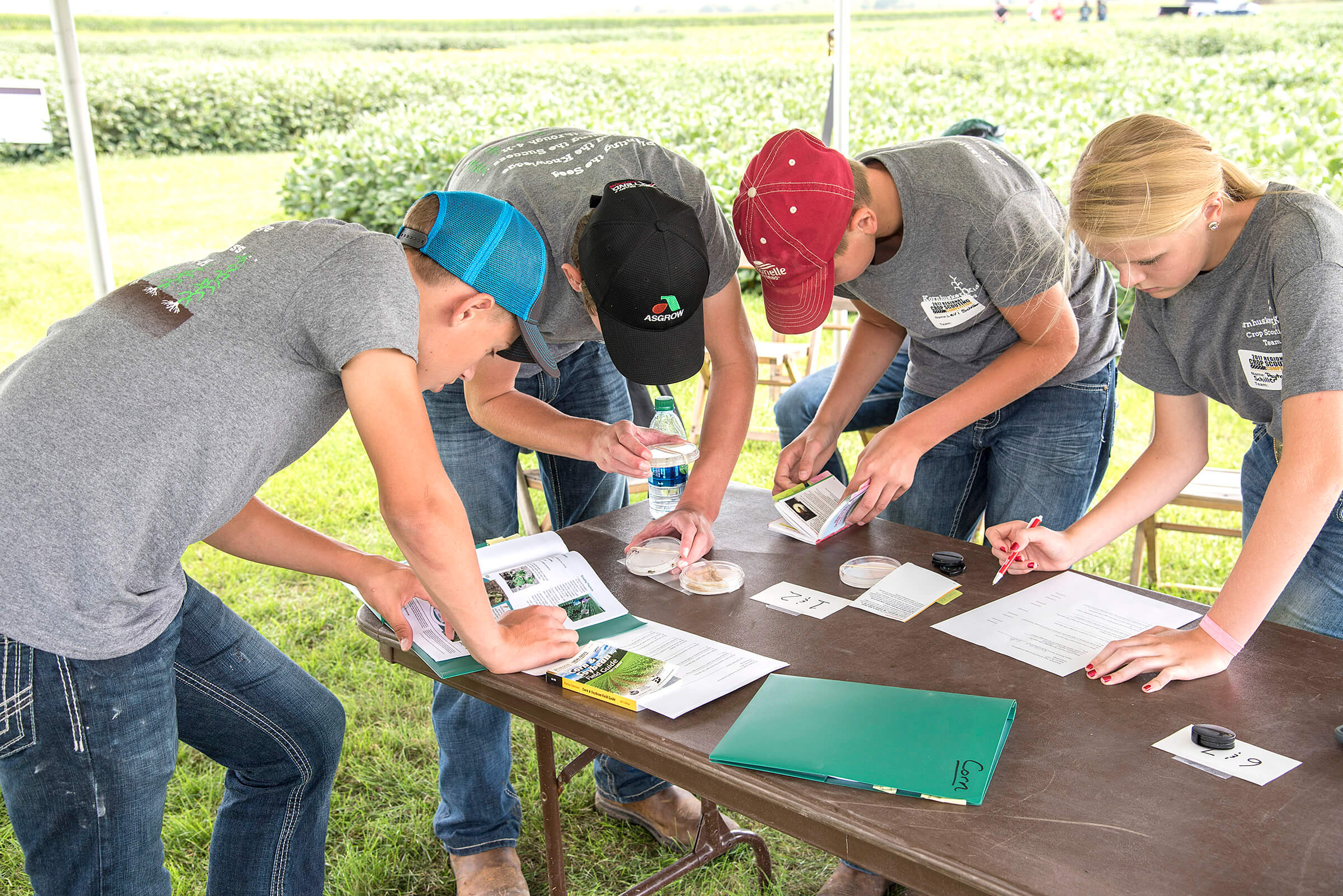 Competition gives high school students insights into