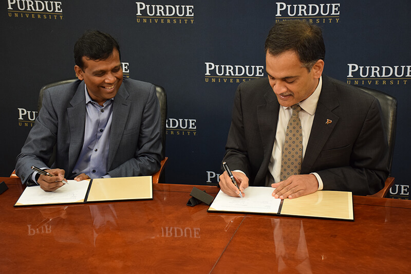 Infosys Purdue University Build Strategic Alliance For Technology