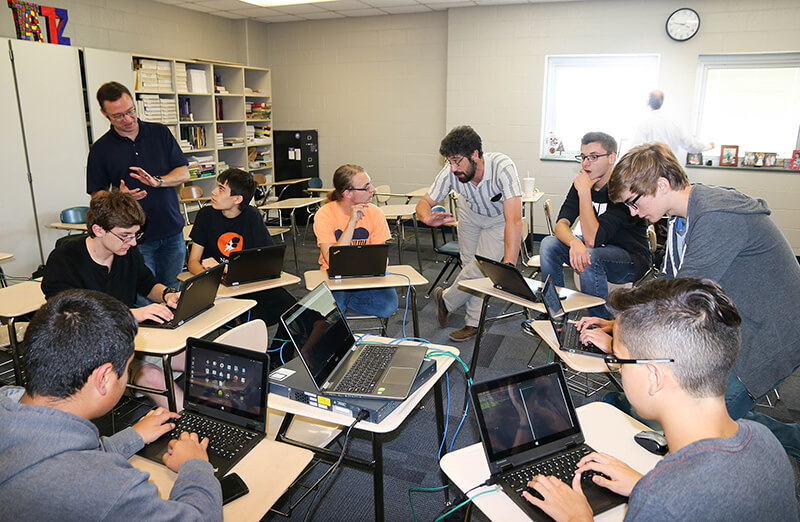 Purdue volunteers assist history-making high school supercomputing
