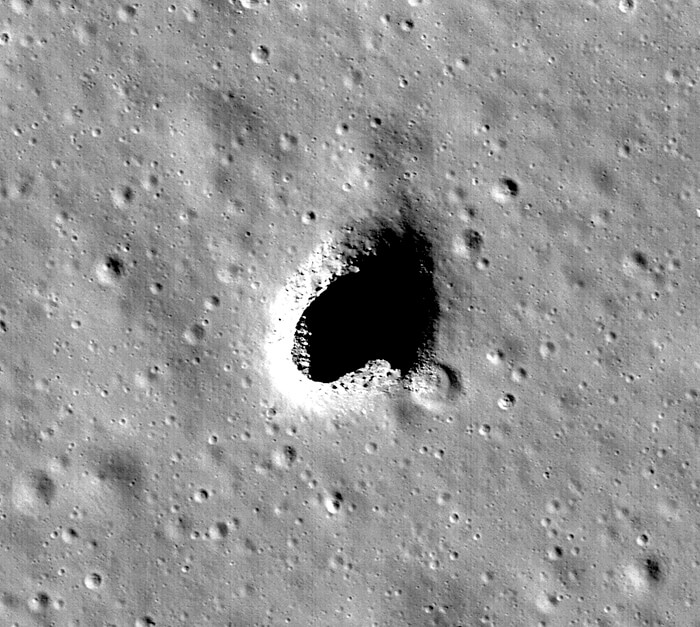 Japan's lunar orbiter discovers moon cave potentially suitable for use as shelter