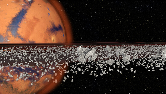 New theory suggests Mars had rings in the past