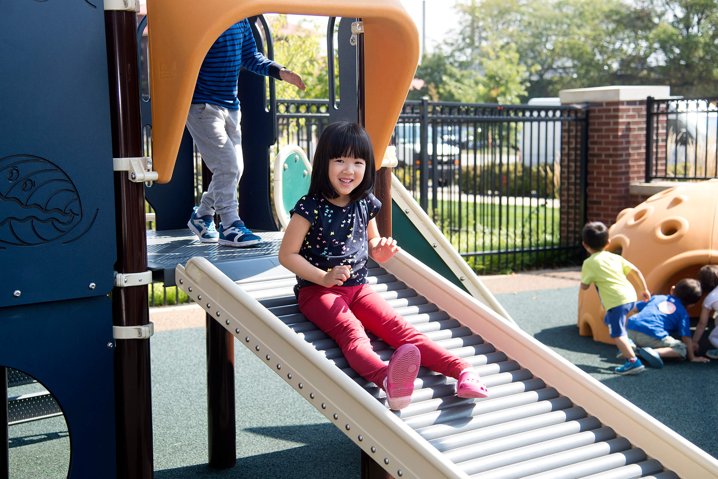 Outdoor learning space to help children with communication ...