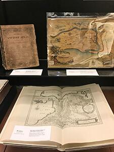 archival maps exhibition