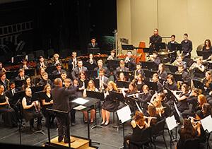 Purdue concert band