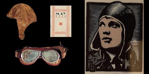 Amelia Earhart and items