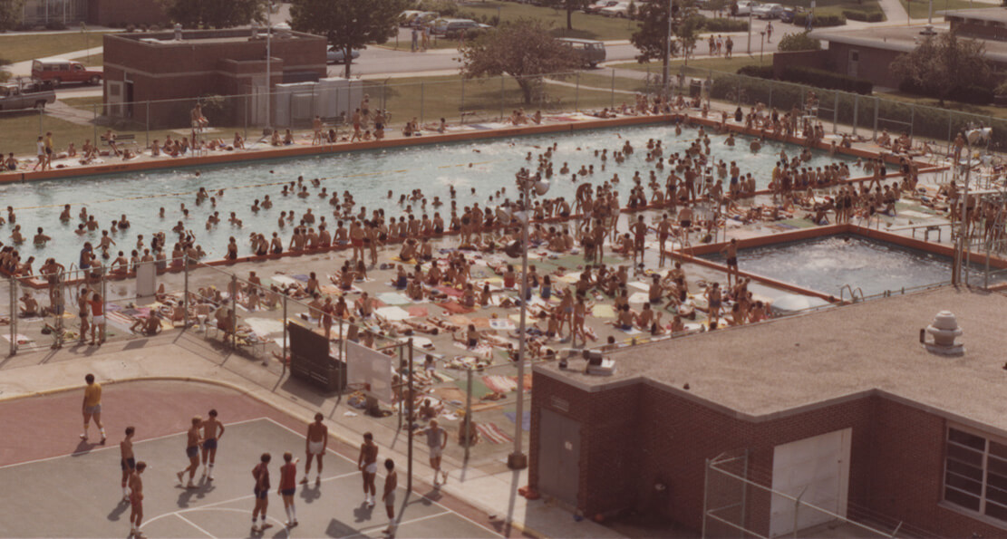 From The Archives Revealed Recreational Sports Center Pool Purdue University