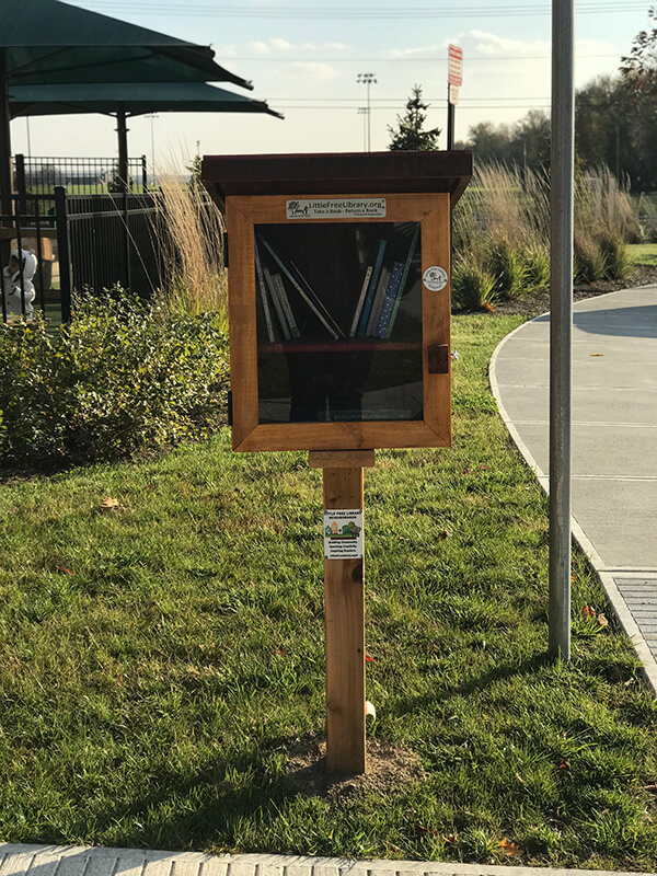 Little Free Library at Purdue University Early Care and Education Center