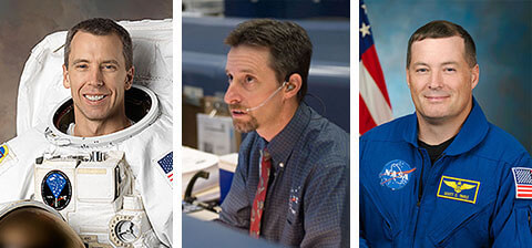 Purdue alumni on NASA mission