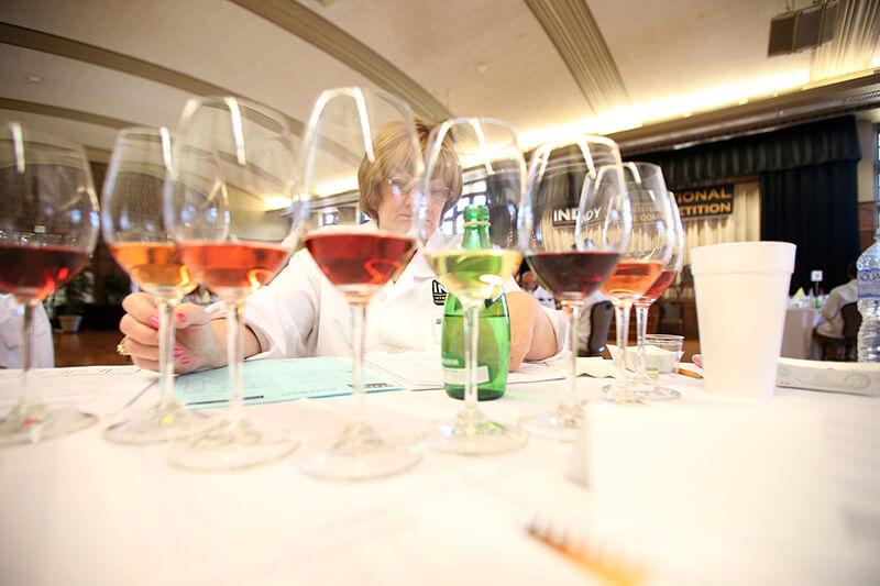 Indy wine judges