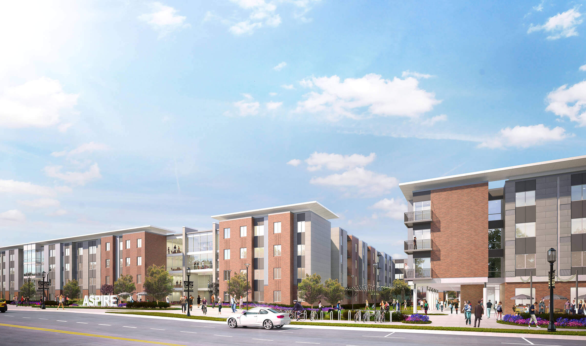 Construction Of 86 Million 835 Bed Apartment Complex To Begin In Purdue West Side Development District