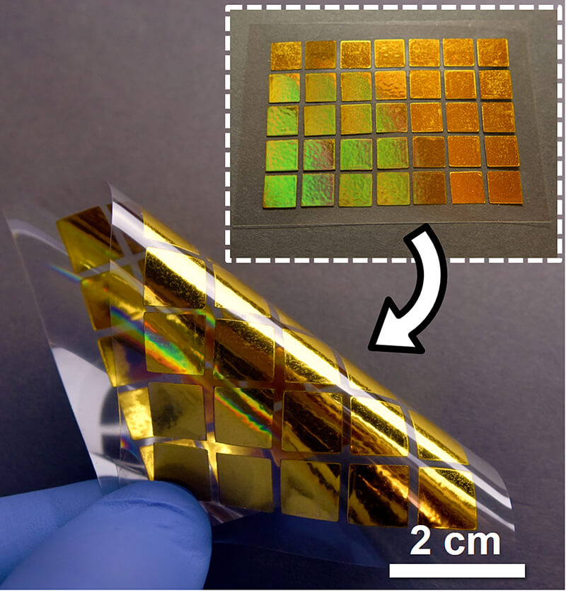 Flexible plasmonics