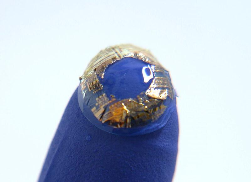 Lens sensor