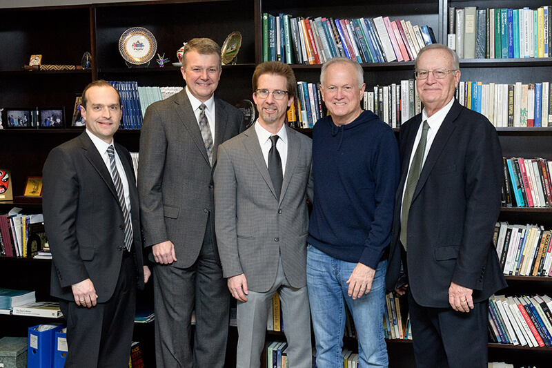 David A. Reingold, Jay Akridge, Peter Hollenbeck, Randy Roberts, and R. Douglas Hurt