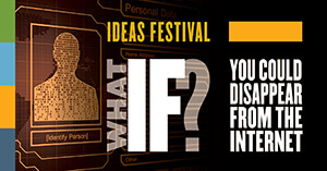 event graphic for debate about internet
