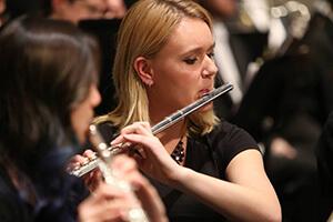 Purdue orchestras flute