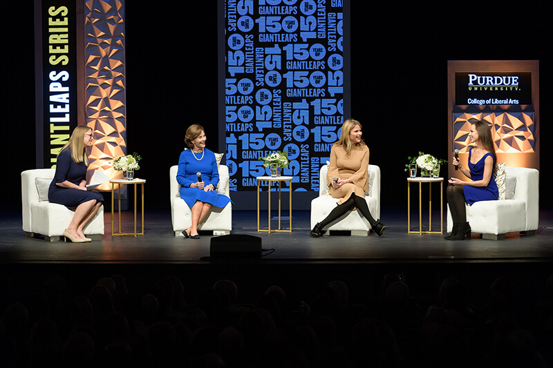 Laura W. Bush, Jenna Bush Hager, and Barbara Pierce Bush