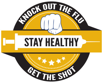 Flu shot logo
