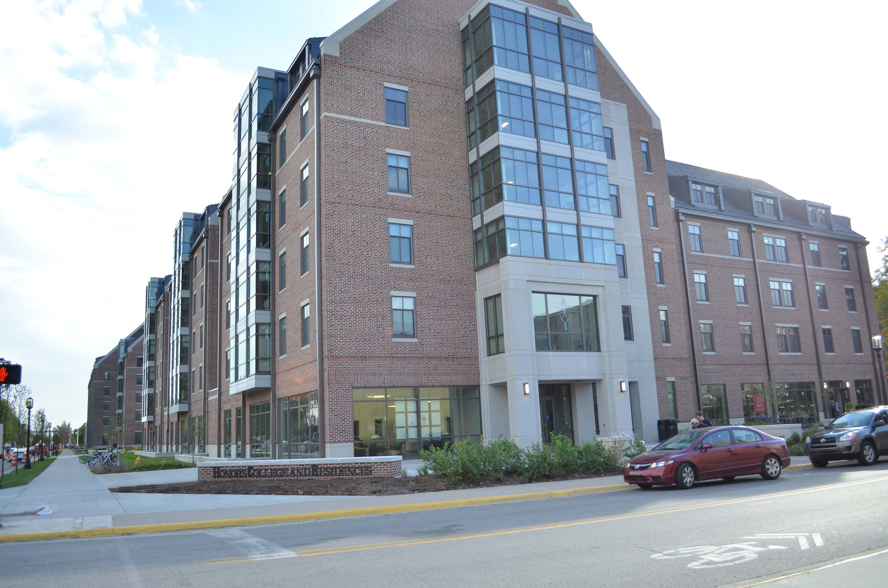 Honors College And Residences Earns Leed Gold Certification News