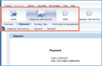 Purdue SAP Portal screen