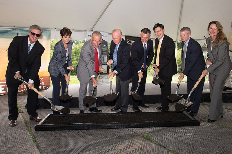 Schweitzer Engineering Laboratories groundbreaking