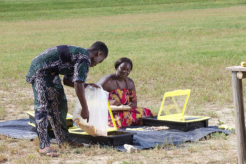 Solar tray