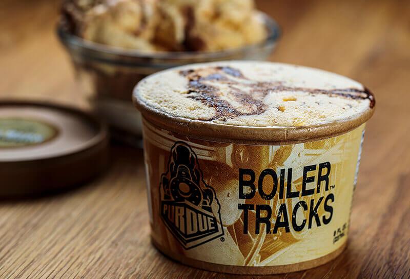 Boiler Tracks ice cream