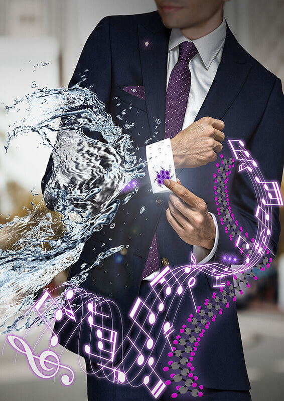clothing nanogenerators