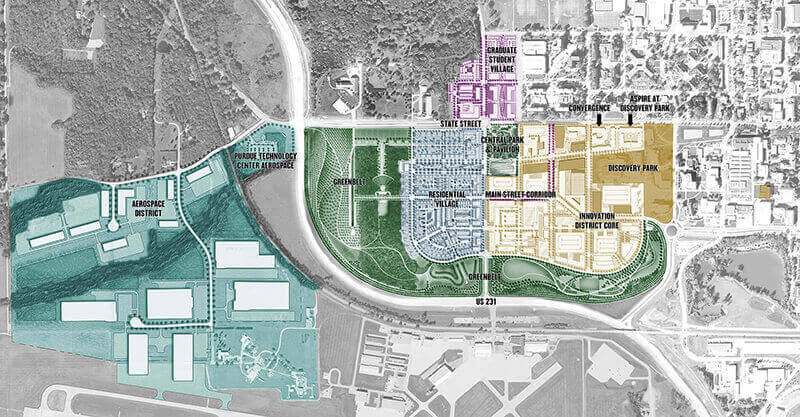 Discovery district map