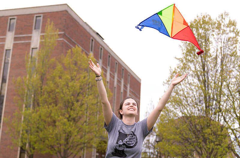 giving kite