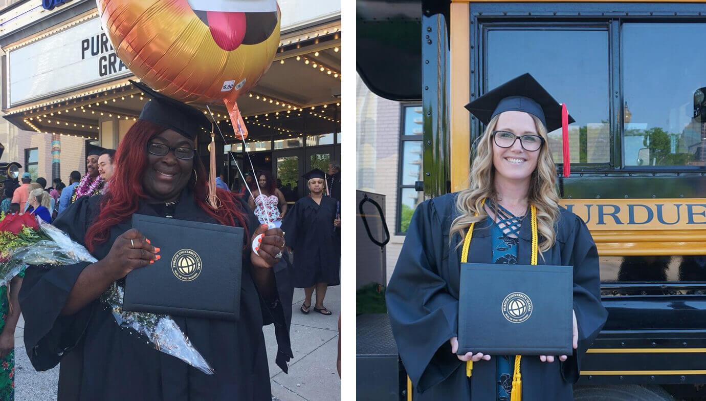 Purdue University Global graduates