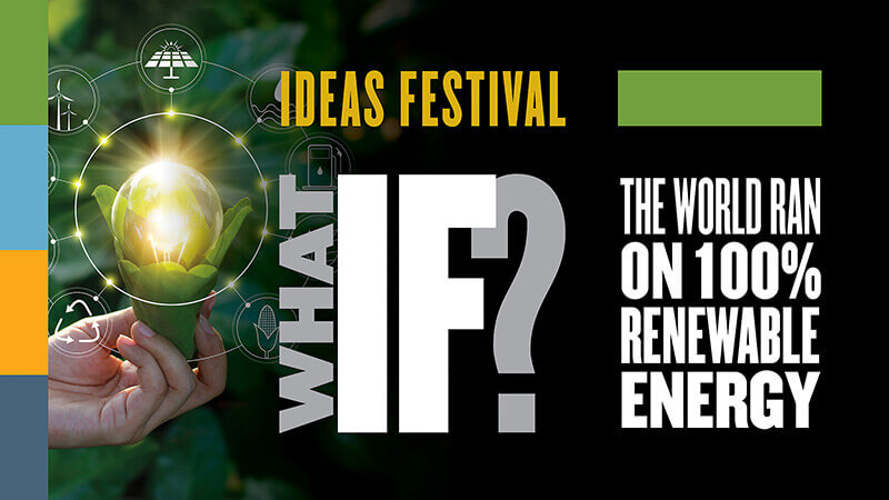 Event graphic for renewable energy