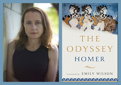 Emily Wilson, Odyssey book cover