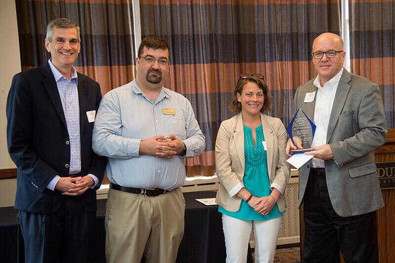 APSAC Excellence Award presentation