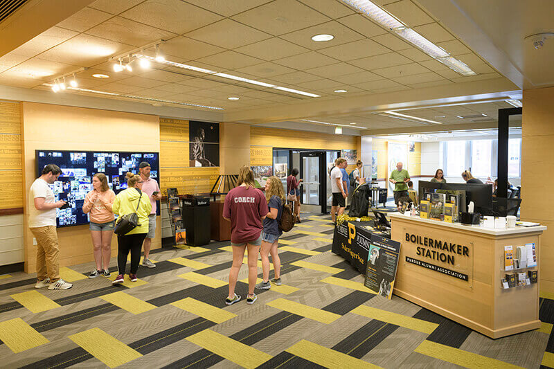 New Boilermaker Station Welcome Center