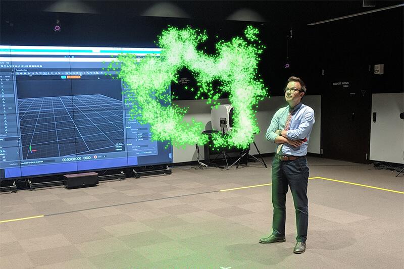 Dan Milisavljevic and VR supernova image