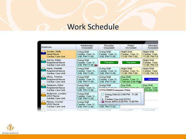 schedule patching