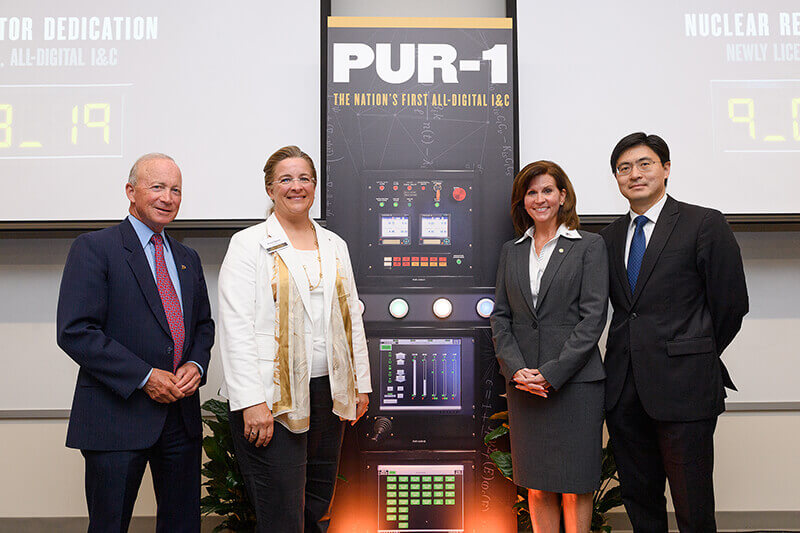 PUR-1 dedicated during ceremony