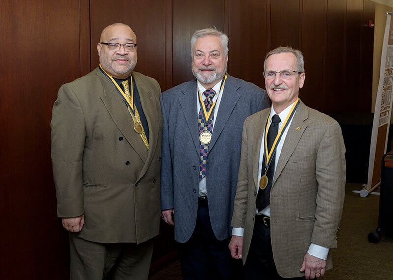 Kenneth C. Christmon, Morris Levy and Shawn S. Donkin