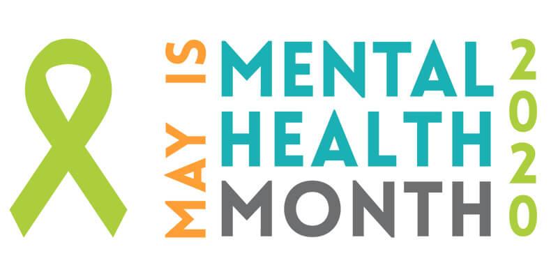Mental Health Month logo