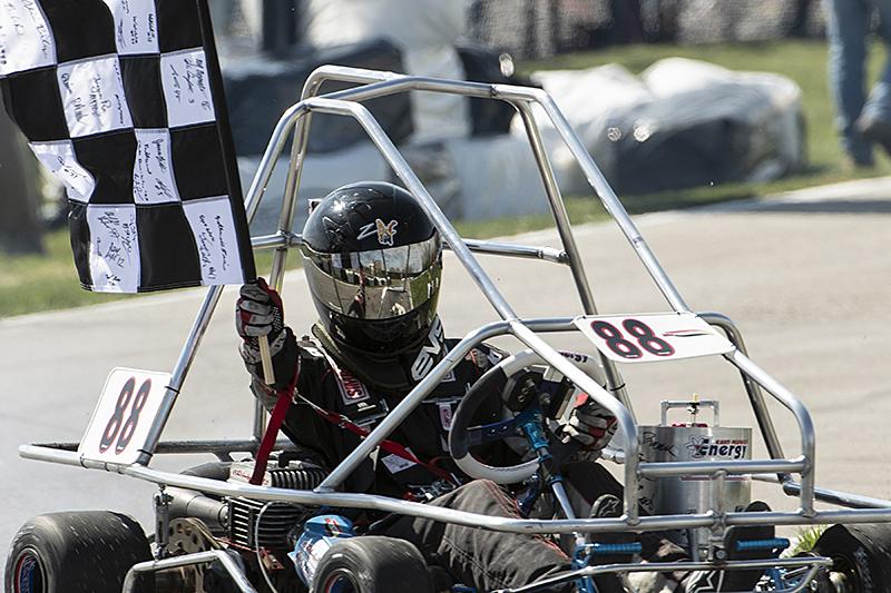 Peddycord takes victory lap