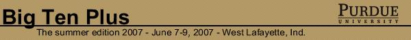 Big Ten Plus 2007